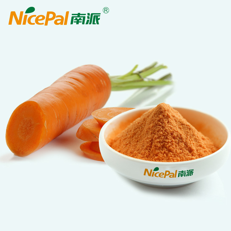 Fresh Carrot Plant Extract Carrot Vegetable Juice Powder From China Factory
