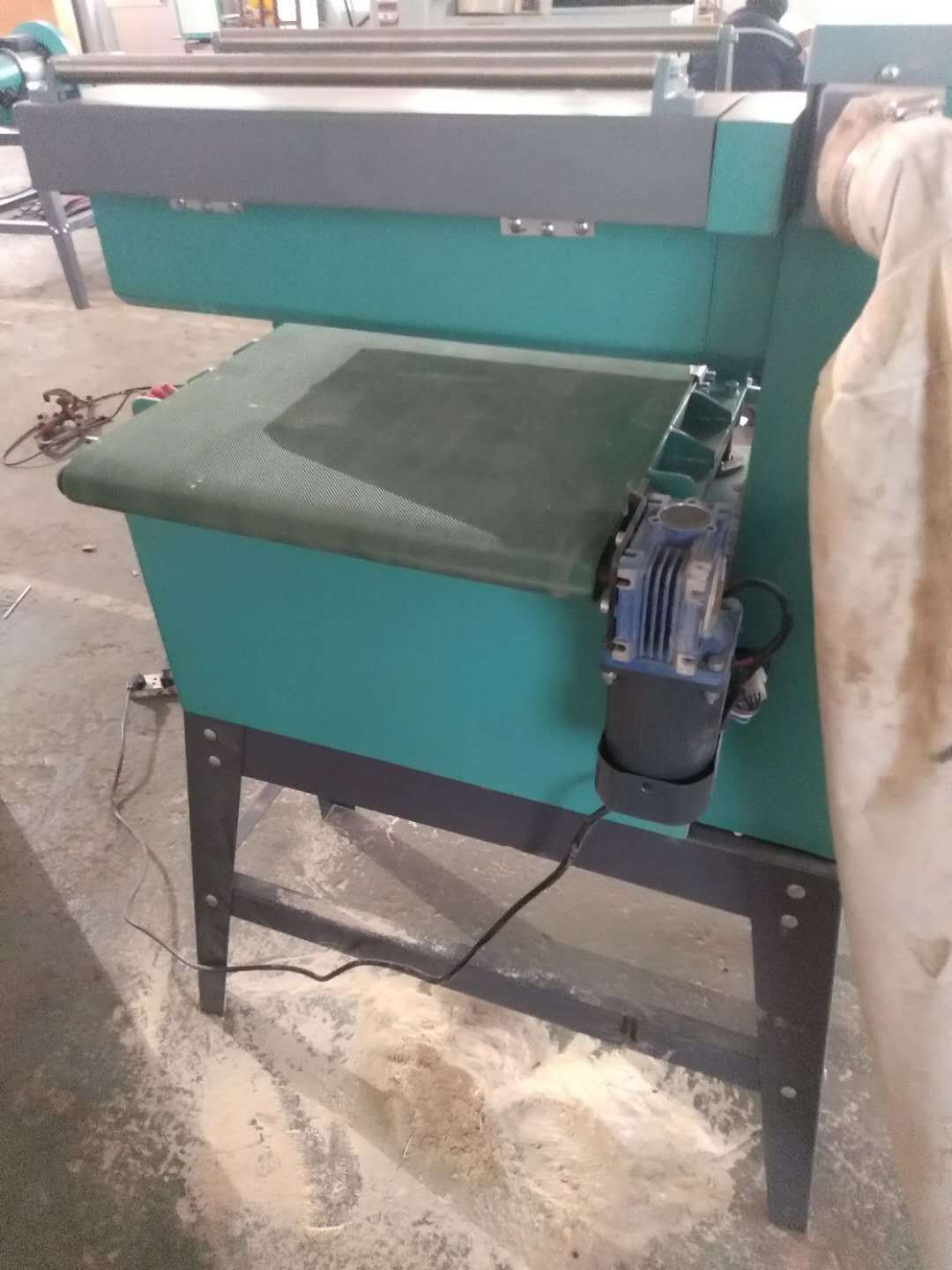 Open Woodworking Drum Sander Machine