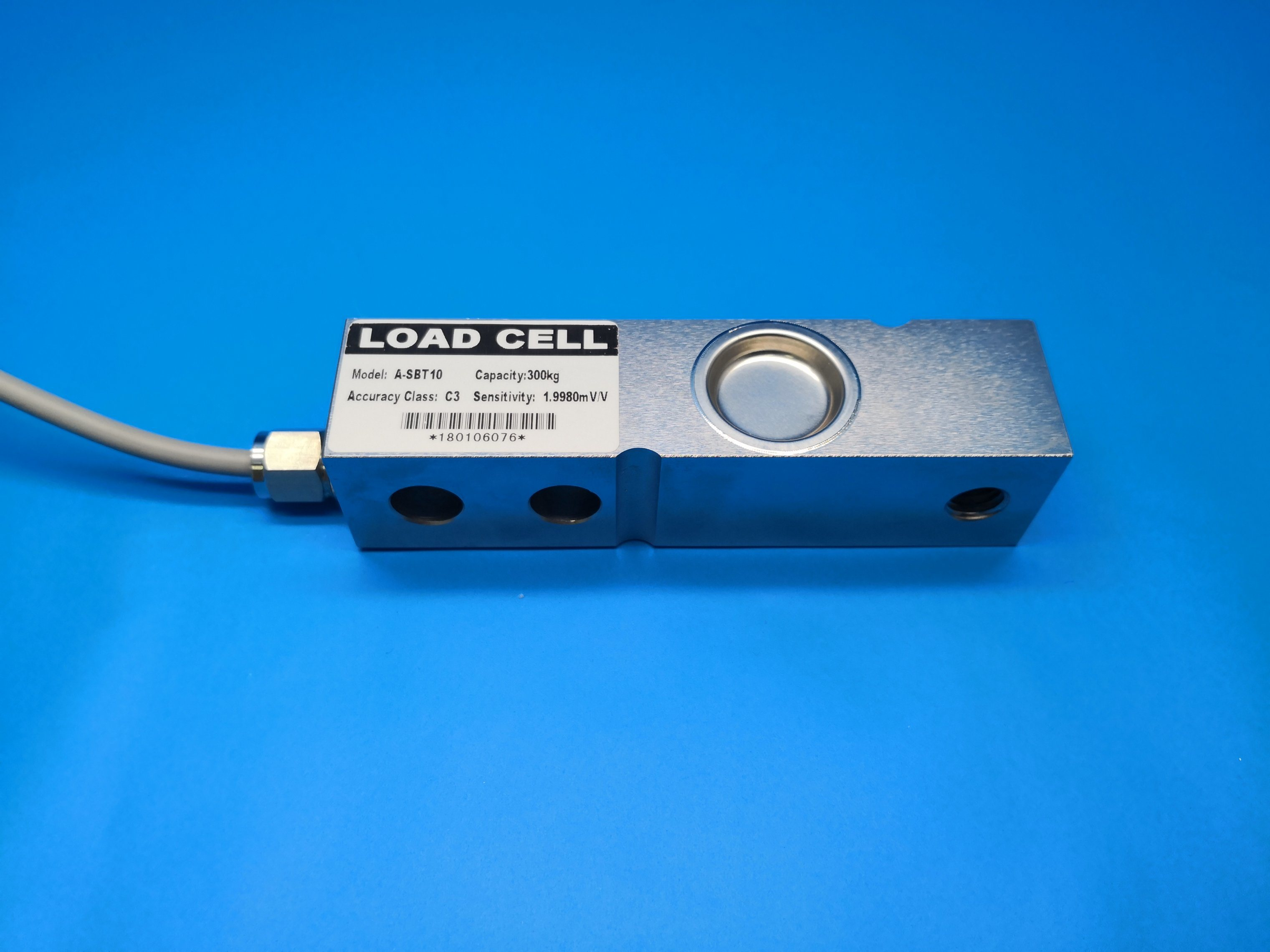 Load Cell Weighing Sensor 2000KG Shear Beam Weighing Sensor Load Cell Scale with Shielded Cable Load Cell