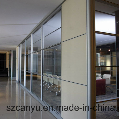 Outdoor Movable Frameless Glass Wall Hotel Temporary Partition