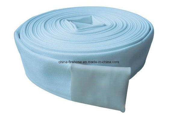 High Pressure Canvas Braided PVC Lining Fire Hose with Coupling and Nozzles