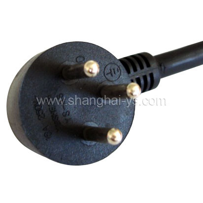 Israel Certificated Power Cord Plug (YS-46)