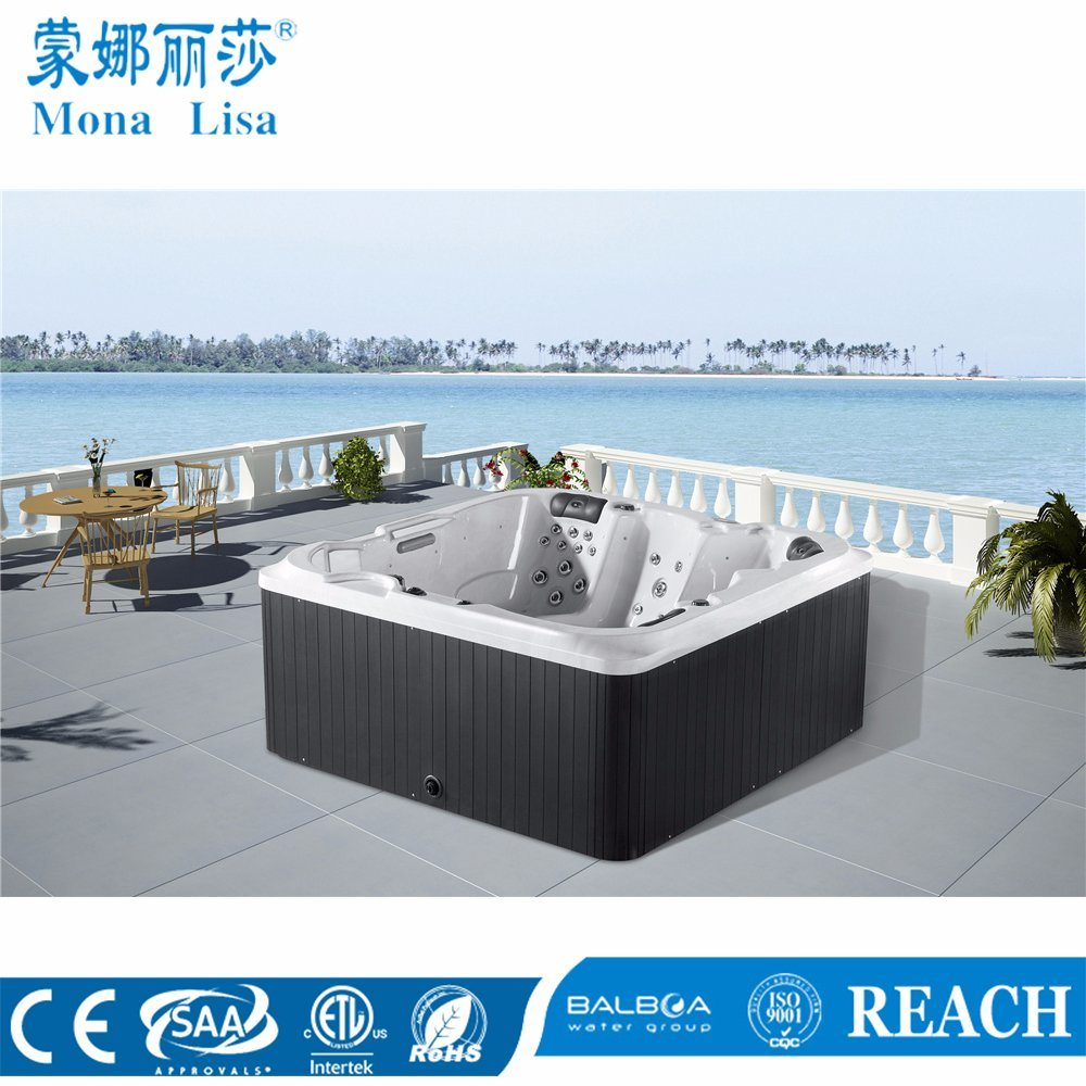 China 5 Person Deluxe Hydro Aqua Air Bubble Jets Whirlpool Massage ...