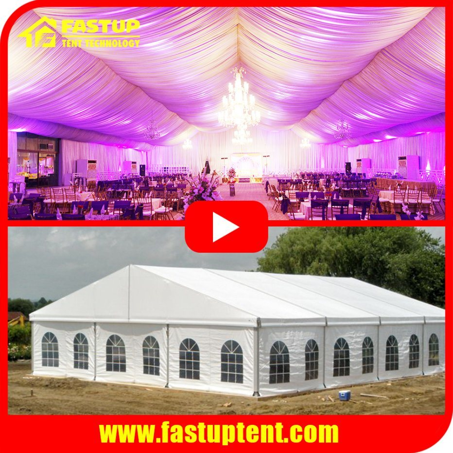 [Hot Item] Marquee Tent Canopy for Church Wedding Party Event Marriage  Catering Festival Exhibition