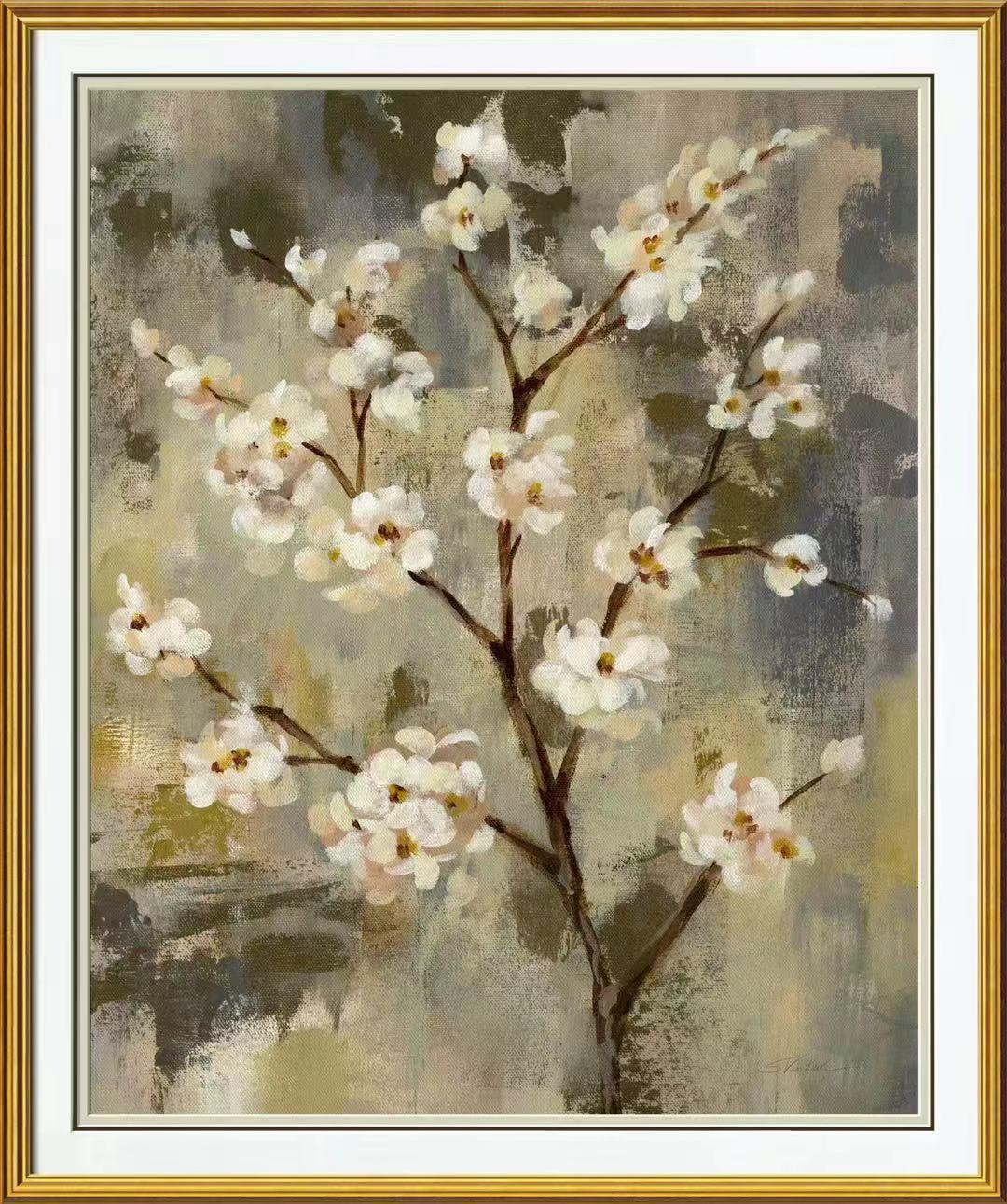 China Abstract Oil Painting Of Flowers Paint Canvas Wall Art China Hand Oil Painting And Unique Oil Painting Price