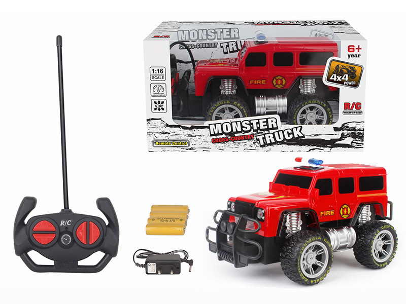 China 1 16 Scale Rc Monster Truck Good Selling Remote Controlled Car With Battery H51870060 China Remote Controlled Car And Rc Monster Truck Price