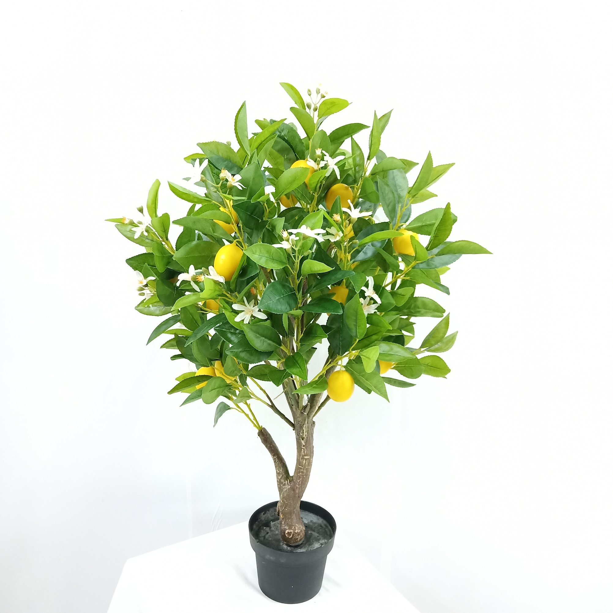 China Artificial Decorative Plants Plastic Potted Bonsai Lemon Tree China Artificial Lemon Tree And Lemon Tree Price