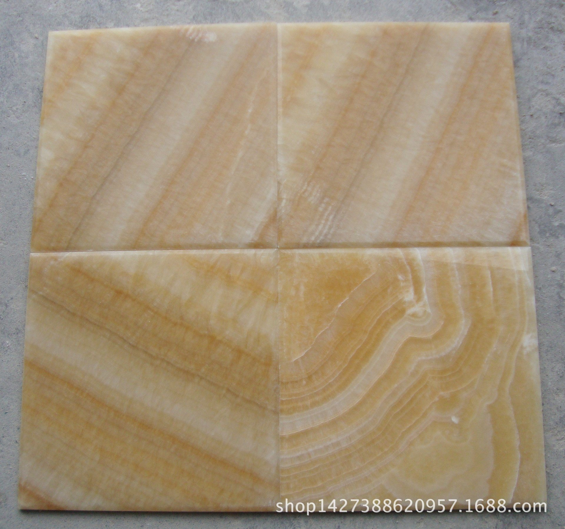 Natural Yellow Honey Onyx Flooring Marble Slab for Wall Background pictures & photos