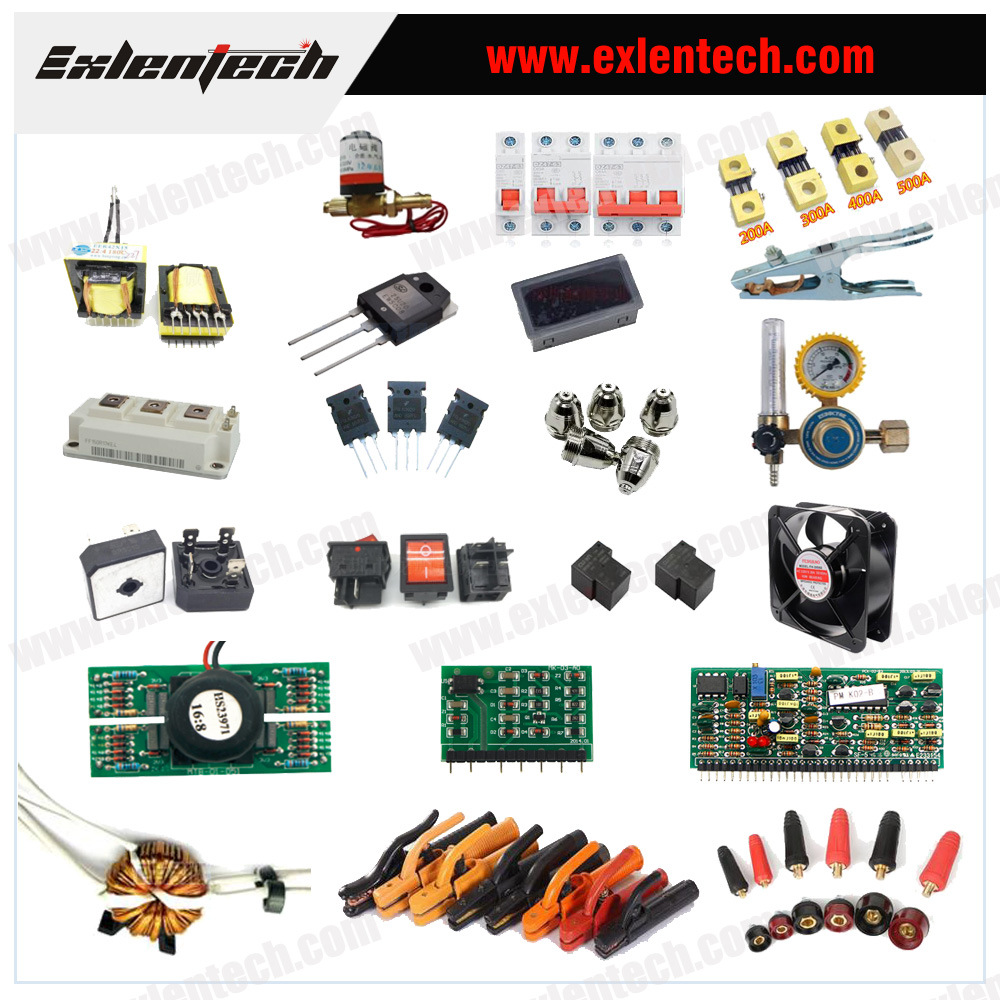 China Electric Components Of Dc Inverter Welding Machine Spare Parts China Components Of Welding Machine Welder Components