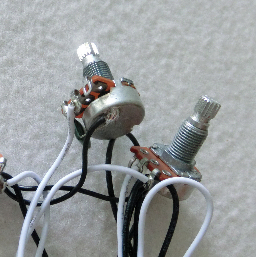 China Sss Guitar Wiring Harness With Alpha Mini 250k Pots Electric