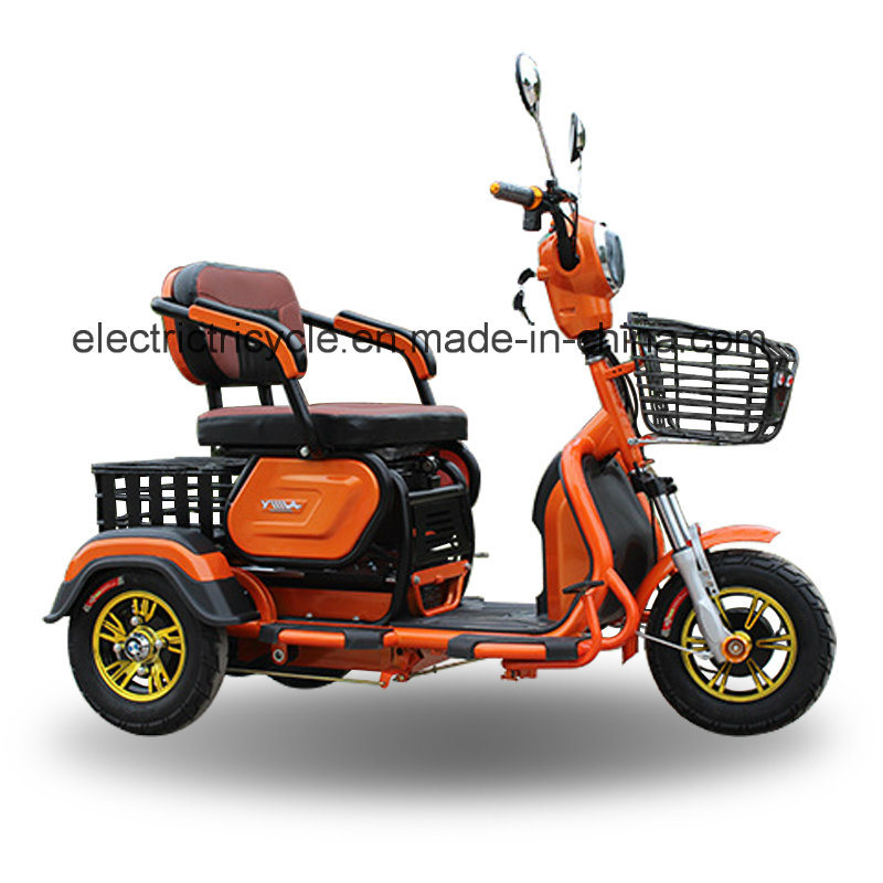 Hot Sale Best 3 Wheel Electric Adult Tricycle Motorcycle pictures & photos
