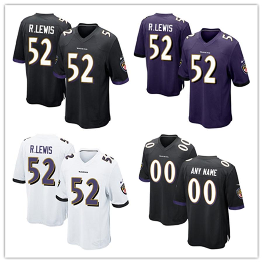 ebc58a4e [Hot Item] Men Women Youth Ravens Jerseys 52 Ray Lewis Football Jerseys