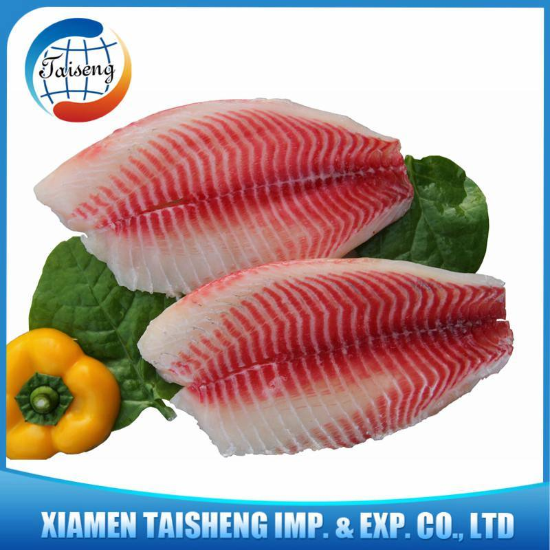 China Frozen Fish Tilapia Fillet Seafood China Tilapia Fillet Frozen Tilapia