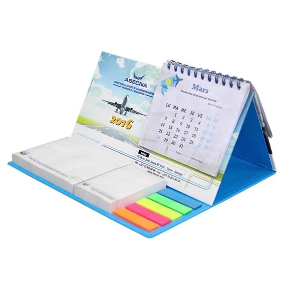 [Hot Item] Custom High Quanlity 2020 Desk Table Wall Calendar Printing