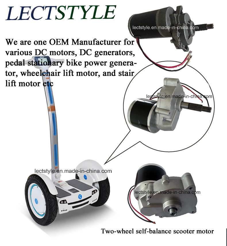Two Wheel Gyroscope Ilized Vehicle Dc Motor
