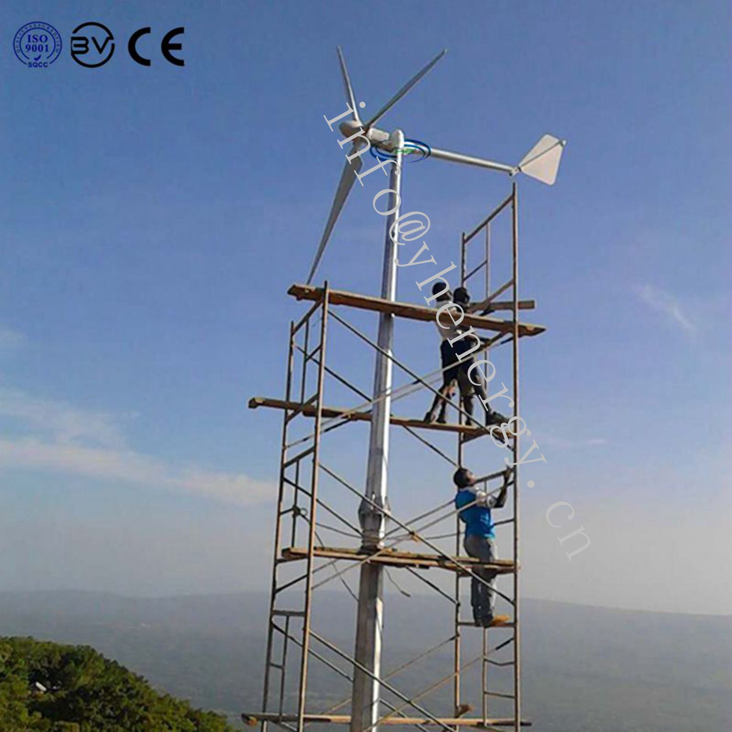 Manufacturer Renewable Energy Small Wind Turbine Generator 2kw pictures & photos
