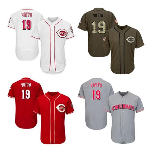 newest fdefb 20e0d China Men Women Youth Reds Jerseys 19 Joey Votto Baseball ...