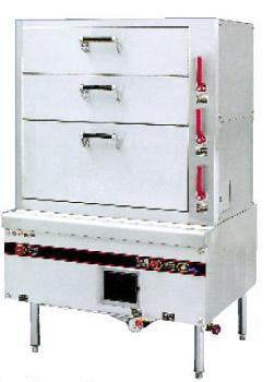 3 Layers Stainless Steel Steam Cabinet