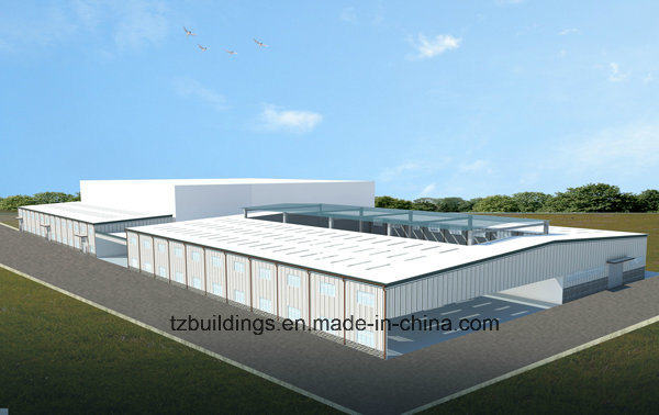 Easy Assemble Steel Structure Building Layout Design