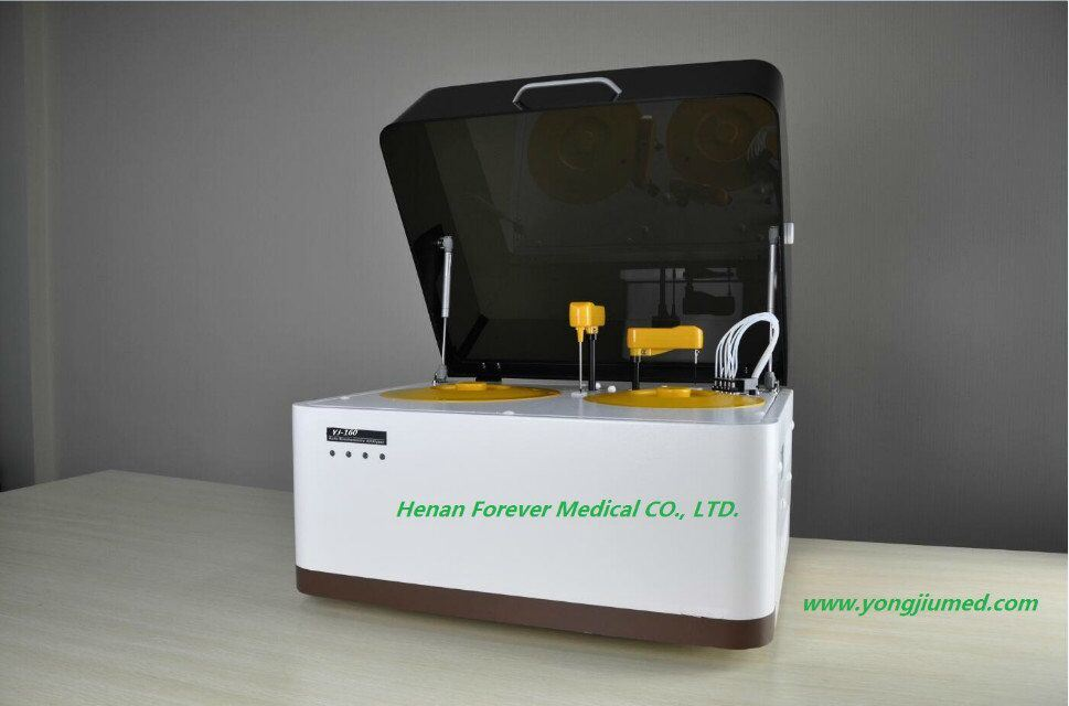 Medical Device Popular Full Automatic Medical Biochemistry Analyzer (YJ-160) pictures & photos