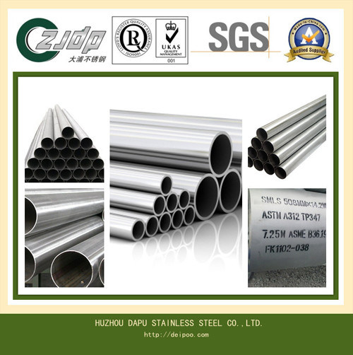 Tp347h Seamless High Quality Mirror Polished Stainless Steel Pipe
