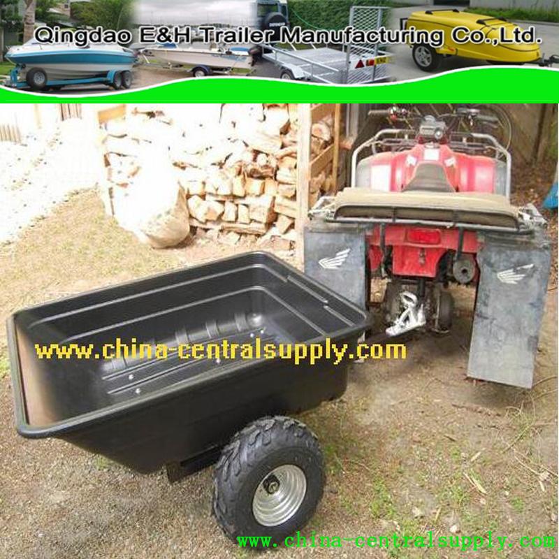 China Manufacturer Supply Single Axle Galvanized 1 2x0 95m Atv Trailer Off Road Ct0091c China Trailer Atv Trailer