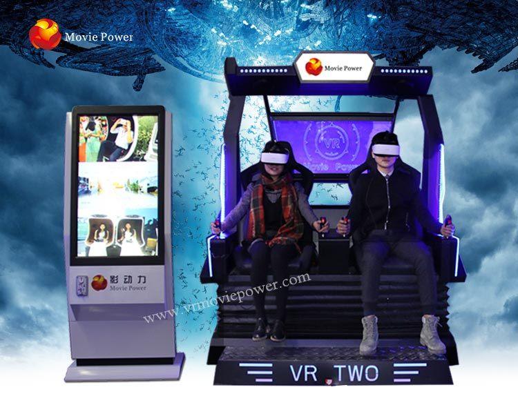 [Hot Item] Amusement Ride 9d Space Capsule 2 Seat Vr Cinema Simulator