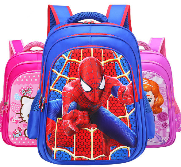 a59720405c China Hot Sale Elementary Student Backpack Bag Cartoon Character Schoolbag  - China Schoolbag