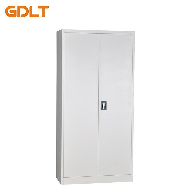 China Price Steel Filing Cabinet Two Door With Adjule Shelves Metal