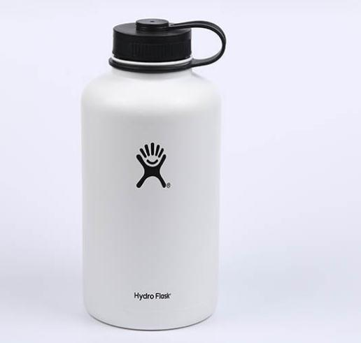 Custom Laser Engraved Silkscreen Logo 18oz 32oz 40oz Flip Lid Straw Spout Stainless Steel Thermos Vacuum Hydro Flask