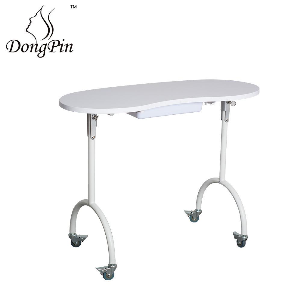 China Cheap Nail Spa Tables Portable Table Sale Salon Manicure