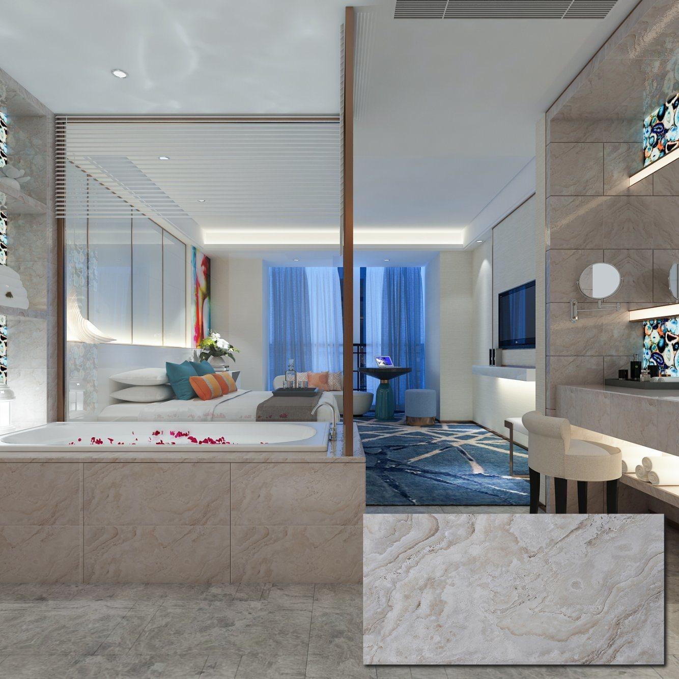 China Saltillo Small Bathroom Grey Marble Texture Standard Wall Tile Dimensions China Bathroom Tile Lanka Tile Price