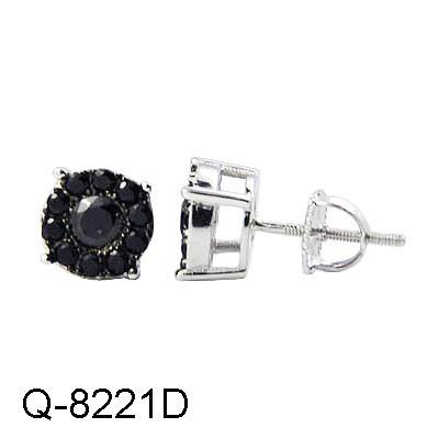 b8ef52980 Wholesale Personalized Fine Jewelry 925 Sterling Silver Cubic Zirconia  Screw Back Stud Earring