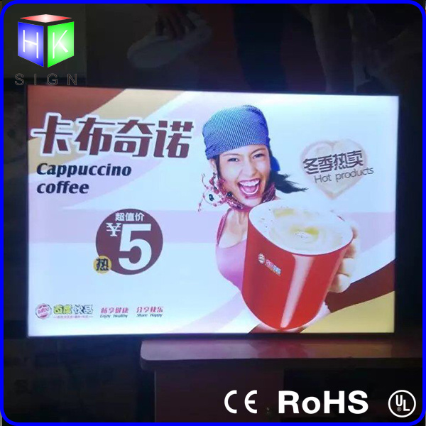 LED Frameless Fabric Backlit Light Box for Advertising Billboard Display pictures & photos