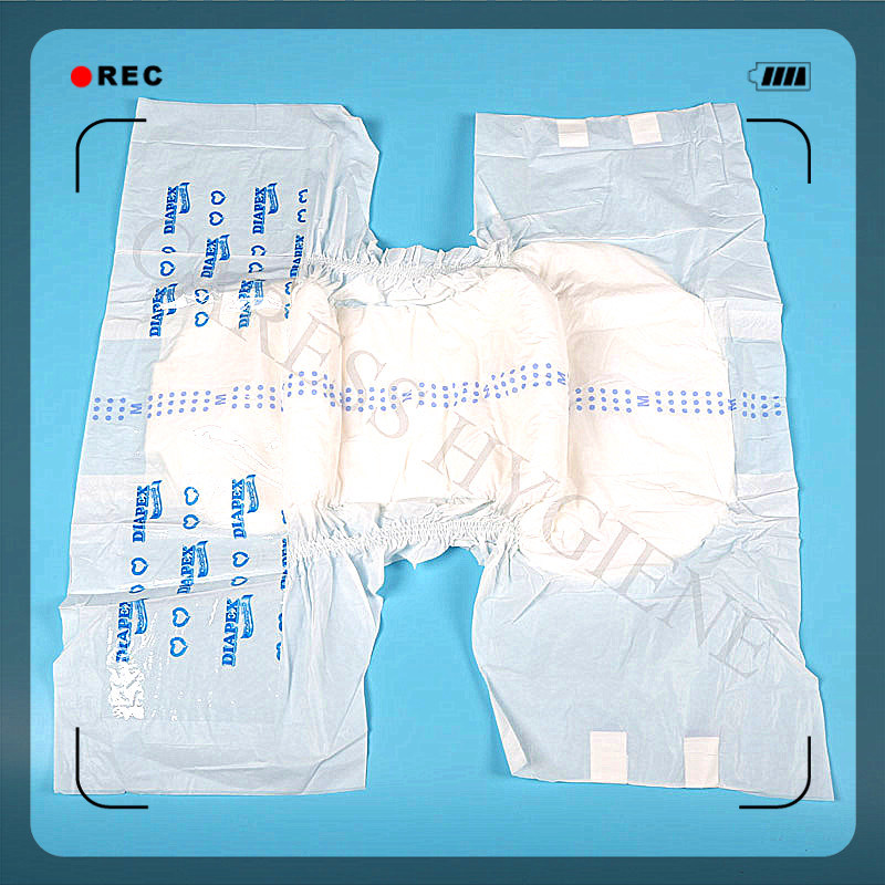 Velco Magic Tape Disposable Adult Diapers for Old People pictures & photos