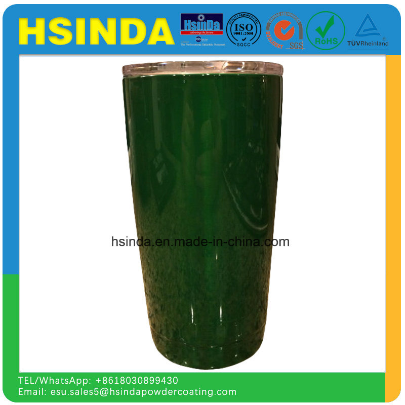 Interior Decoration Luminous Candy Green Clear Paint Powder Coating