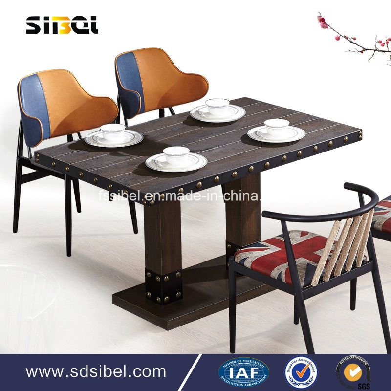 Vintage Tolix Industral Metal Restaurant Table Sbe-CZ0616
