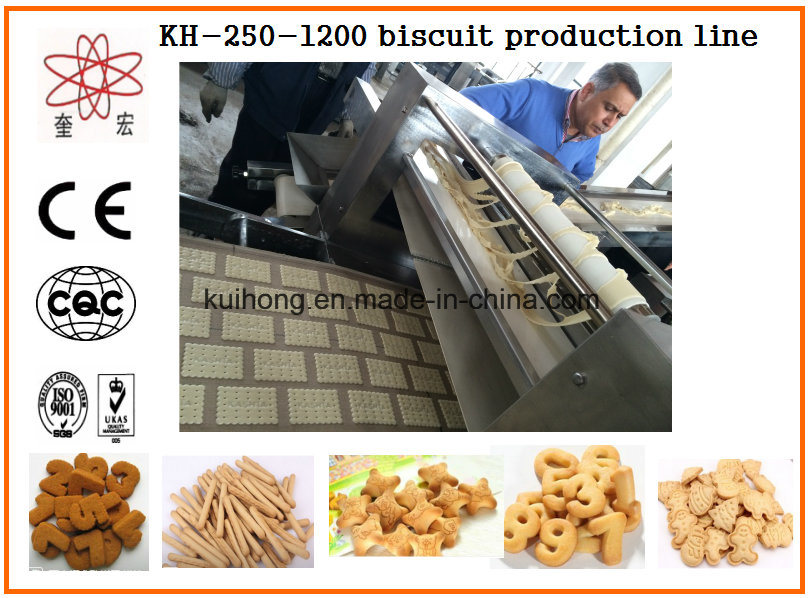 Kh 400 Biscuit Machine Line Factory/Biscuit Factory Machine pictures & photos