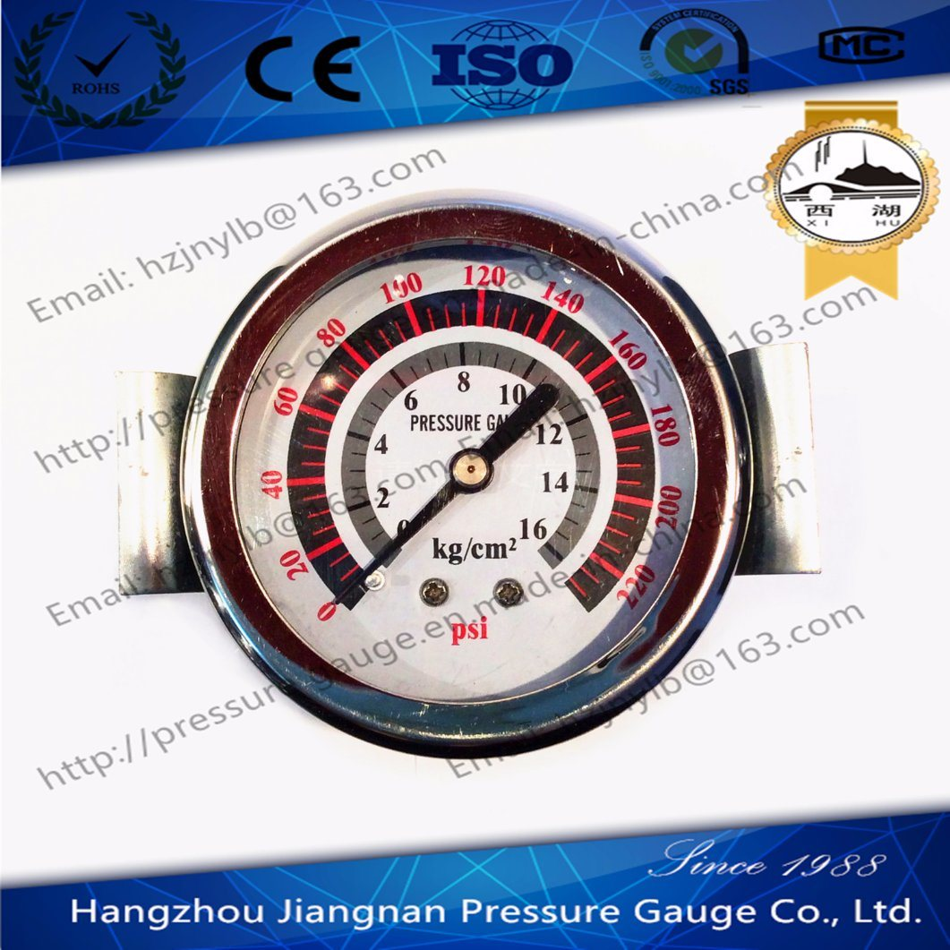 60mm 2.5′′ General Air Pressure Gauge with Iron Framing