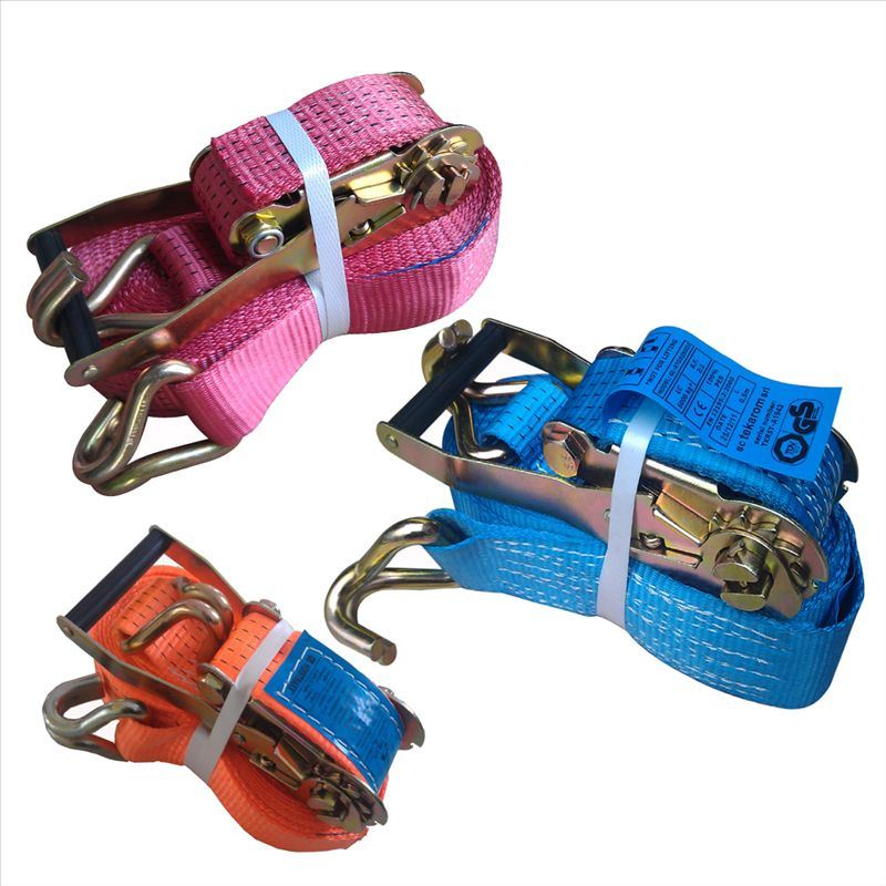Polyester Ratchet Tie Down Strap Cargo Lashing pictures & photos