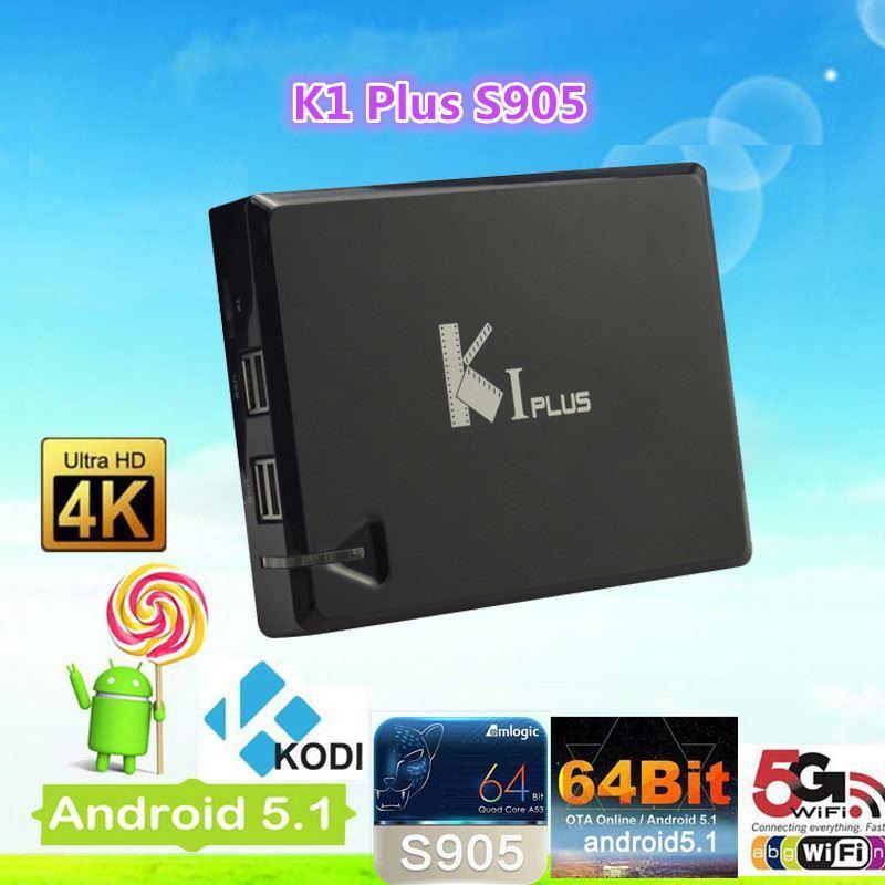 [Hot Item] Kodi Android 5 1 Ki Plus Amlogic S905 Quad Core Smart TV Box