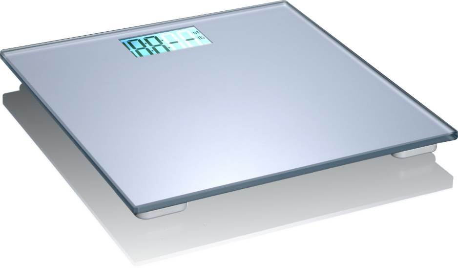 Hotel Room Tempered Glass Bathroom Digital Weighing Scale