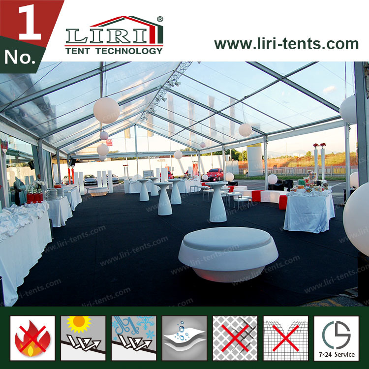25m Insulation Clear Roof Tents Used as Party and Wedding pictures & photos