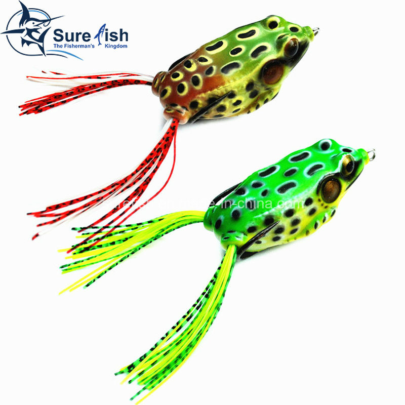 Vmc Hooks Soft Plastic Bait Hollow Body Frog Fishing Lure pictures & photos