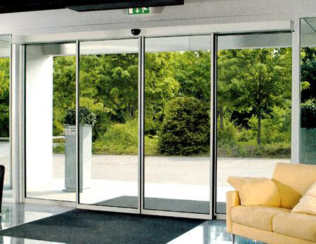 China Home Use Morden Designed Automatic Glass Sliding Door China