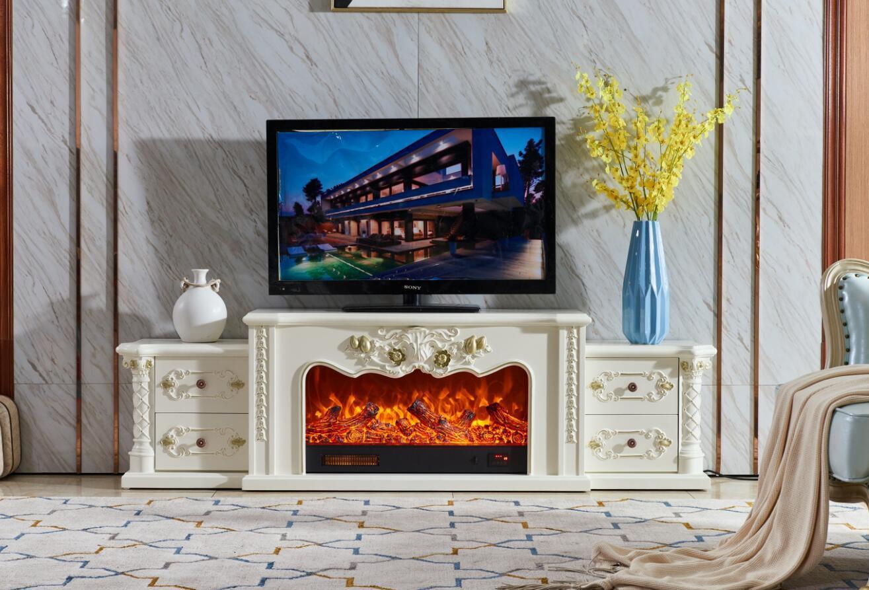 China Modern Electric Insert Remote Control Decorative Fake Flame