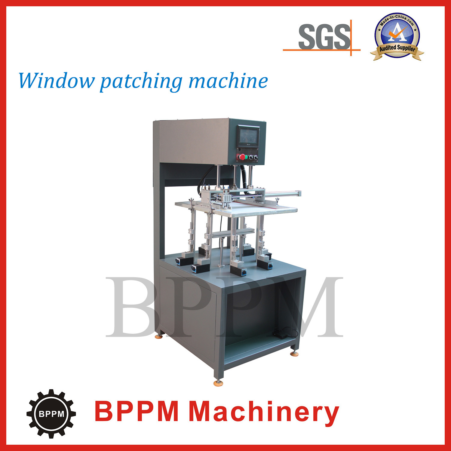 High Quality Semi-Automatic Window Patching Machine