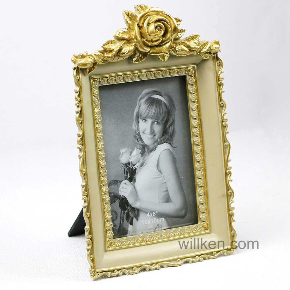 China Shabby Chic Flourish Baroque Frame, Ornate Floral Frame ...