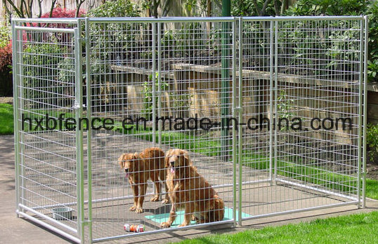 Galvanized Outdoor Temporary Fence Dog Kennel