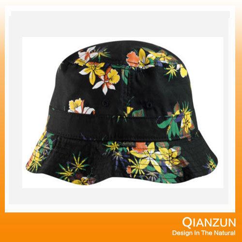 China Custom Design Label Logo Popular Floral Blank Bucket Cap - China  Custom Design Blank Cap 8b67f8f58cc